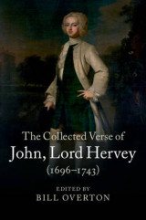 Omslag - The Collected Verse of John, Lord Hervey (1696-1743)