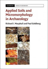 Omslag - Applied Soils and Micromorphology in Archaeology