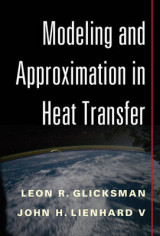 Omslag - Modeling and Approximation in Heat Transfer