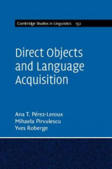 Omslag - Direct Objects and Language Acquisition