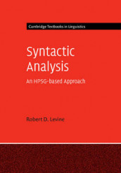 Syntactic Analysis av Robert D. Levine (Innbundet)