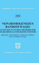 Omslag - Non-Homogeneous Random Walks