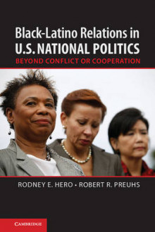 Black-Latino Relations in U.S. National Politics av Rodney E. Hero og Robert R. Preuhs (Innbundet)
