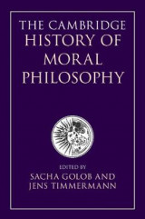 Omslag - The Cambridge History of Moral Philosophy