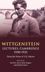 Omslag - Wittgenstein: Lectures, Cambridge 1930-1933