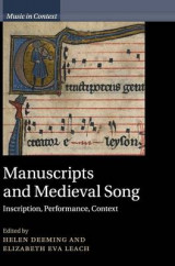 Omslag - Manuscripts and Medieval Song