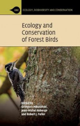 Omslag - Ecology and Conservation of Forest Birds