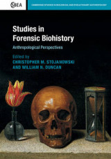 Omslag - Studies in Forensic Biohistory