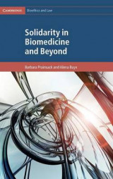 Omslag - Solidarity in Biomedicine and Beyond