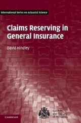 Omslag - Claims Reserving in General Insurance