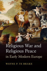 Omslag - Religious War and Religious Peace in Early Modern Europe