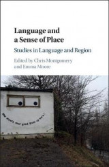 Omslag - Language and a Sense of Place