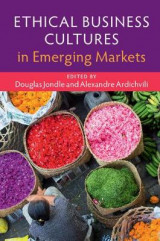 Omslag - Ethical Business Cultures in Emerging Markets