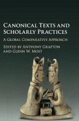 Omslag - Canonical Texts and Scholarly Practices