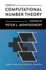 Omslag - Topics in Computational Number Theory Inspired by Peter L. Montgomery