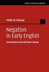 Omslag - Negation in Early English
