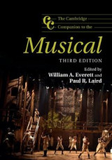 Omslag - The Cambridge Companion to the Musical