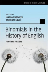 Omslag - Binomials in the History of English