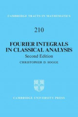 Omslag - Fourier Integrals in Classical Analysis