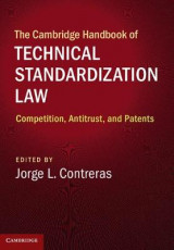 Omslag - The Cambridge Handbook of Technical Standardization Law