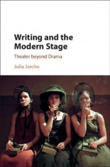 Omslag - Writing and the Modern Stage