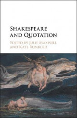 Omslag - Shakespeare and Quotation