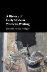 Omslag - A History of Early Modern Women's Writing