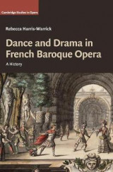 Omslag - Dance and Drama in French Baroque Opera