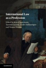 Omslag - International Law as a Profession