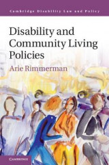 Omslag - Disability and Community Living Policies