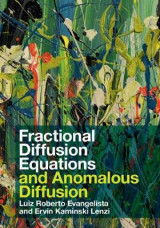 Omslag - Fractional Diffusion Equations and Anomalous Diffusion