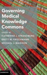 Omslag - Governing Medical Knowledge Commons