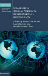 Omslag - Establishing Judicial Authority in International Economic Law