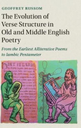 Omslag - The Evolution of Verse Structure in Old and Middle English Poetry