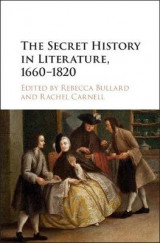 Omslag - The Secret History in Literature, 1660-1820