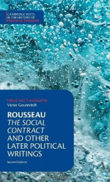 Rousseau: The Social Contract and Other Later Political Writings av Jean-Jacques Rousseau (Innbundet)