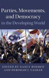 Omslag - Parties, Movements, and Democracy in the Developing World