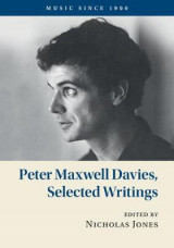 Omslag - Peter Maxwell Davies, Selected Writings