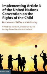 Omslag - Implementing Article 3 of the United Nations Convention on the Rights of the Child
