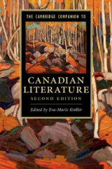 Omslag - The Cambridge Companion to Canadian Literature