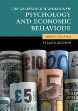 Omslag - The Cambridge Handbook of Psychology and Economic Behaviour