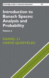 Omslag - Introduction to Banach Spaces: Analysis and Probability