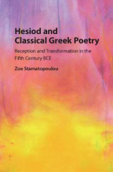 Omslag - Hesiod and Classical Greek Poetry