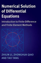 Omslag - Numerical Solution of Differential Equations