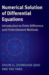 Numerical Solution of Differential Equations av Zhilin Li, Zhonghua Qiao og Tao Tang (Innbundet)