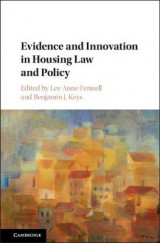 Omslag - Evidence and Innovation in Housing Law and Policy