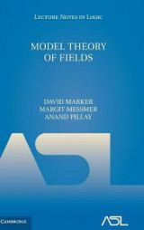 Omslag - Model Theory of Fields