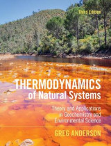 Omslag - Thermodynamics of Natural Systems