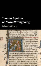 Omslag - Thomas Aquinas on Moral Wrongdoing