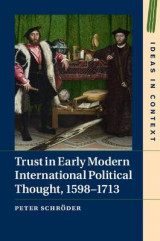 Omslag - Trust in Early Modern International Political Thought, 1598-1713